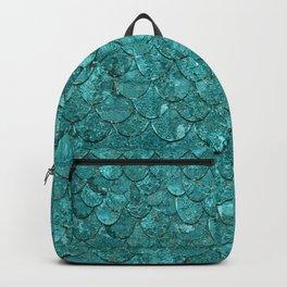 Real Mermaid Scales Backpack