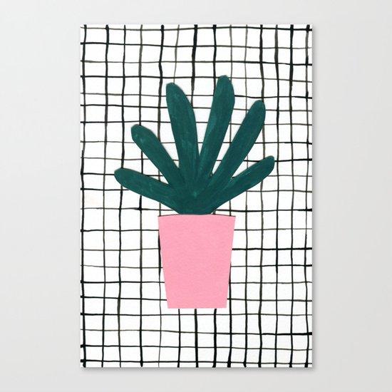 Plant Pot Canvas Print