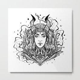 Warrior Queen (Daily Sketch Series) Metal Print