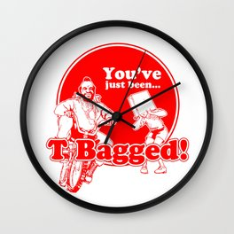 T BAG - MR. T PARODY Wall Clock