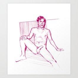 WARM 5 (uncens.) Art Print