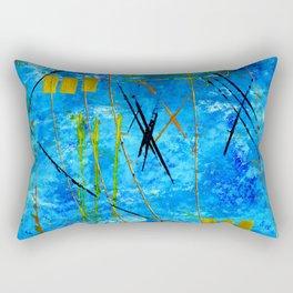 I got the blues Rectangular Pillow