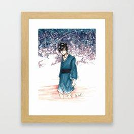 Gray Fullbuster Tanabata Framed Art Print