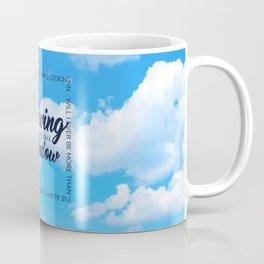 on the outside always looking in Coffee Mug