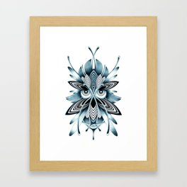 BLUE OWL Framed Art Print