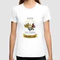 warhammer T-shirts featuring Chaplain, Warhammer 40K by ZsaMo Design