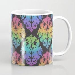 Painted Damask Coffee Mug