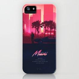 HOTLINE MIAMI ORIGINAL REVAMPED iPhone Case