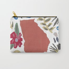 Georgia + Florals Carry-All Pouch
