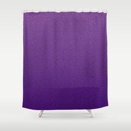 Mei Skin Heliotrope Pattern Shower Curtain