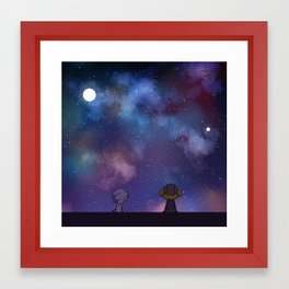 Celestial Clarity Framed Art Print