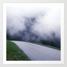 cloud walking Art Print