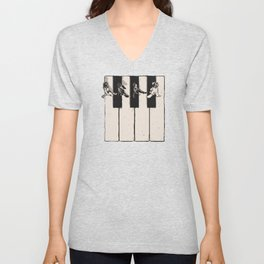 Music is the Way Unisex V-Neck