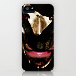 The Devil's Mask 2 iPhone Case