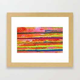 The Manipulation Of Paint #10 Framed Art Print