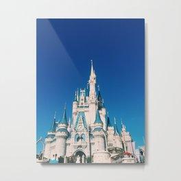 magic-kingdom Metal Print