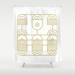 Super Sense No. 11 Shower Curtain