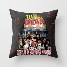 The Waltons Dead Throw Pillow