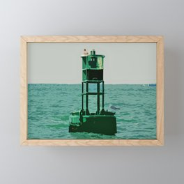 Buoy 21 Framed Mini Art Print