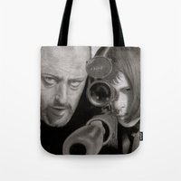 leon Tote Bags featuring Leon by Giampaolo Casarini