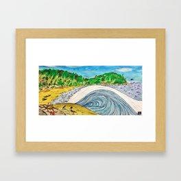 Pucatrihue Framed Art Print