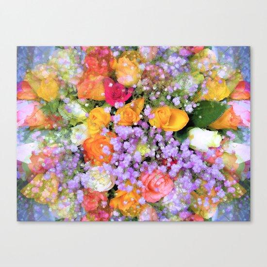 Bokeh Bouquet Canvas Print