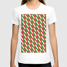 Italia Colors Pattern T-shirt
