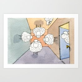 Orientation Day Art Print