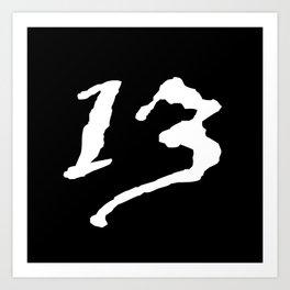 Blackadder 13 Art Print