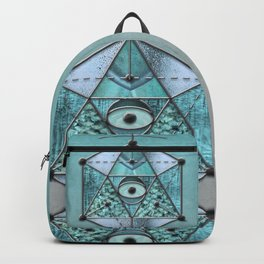 Sacred Geometry Eye Of Protection Backpack