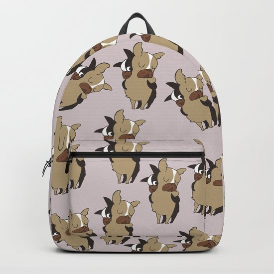 Frenchie Hugs Backpack