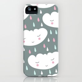 Сute cloud iPhone Case