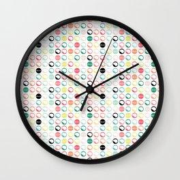 Brain Dots Wall Clock