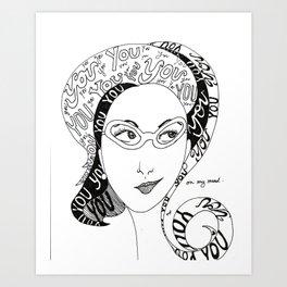 Always on my Mind Art Print