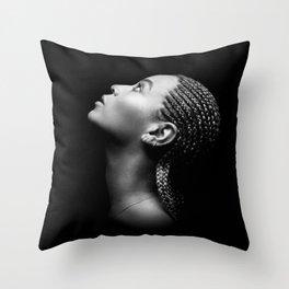 Bey #1 Throw Pillow