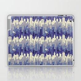 Amethyst abstract city ladscape Laptop & iPad Skin