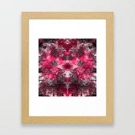 The landscape of her beauty!! Framed Art Print