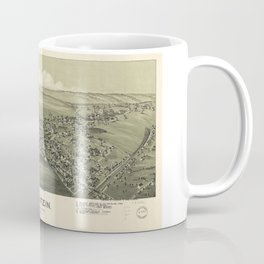 Aerial View of Gallitzin, Pennsylvania (1901) Coffee Mug