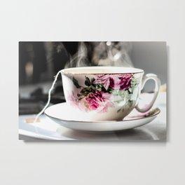 Cup of Tea, Cup of Peace Metal Print