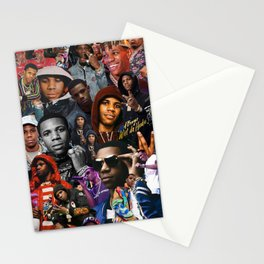 A Boogie Wit Da Hoodie Collage Stationery Cards