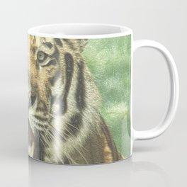 Metal Tiger Coffee Mug