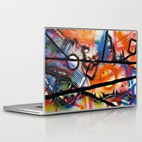 los angeles Laptop & iPad Skins featuring Los Angeles by Slade Anderson