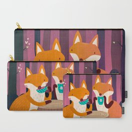 Tea time in the woods Carry-All Pouch