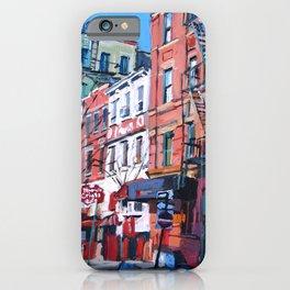 Grove Street in West Village iPhone Case