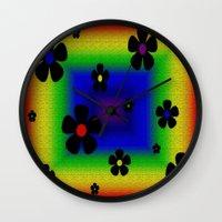 mod Wall Clocks featuring Mod by Raffaella315