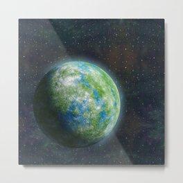 Unknown planet. Metal Print