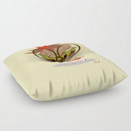 Burger Cutie Time Floor Pillow