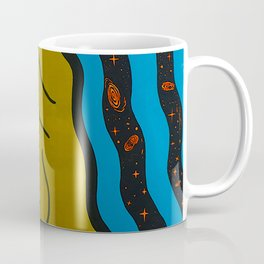 Queen of The Galaxy - sci fi pop art painting Coffee Mug
