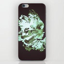 Crystal Girl iPhone Skin