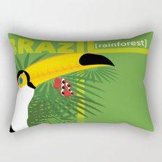 Brazil [rainforest] Rectangular Pillow